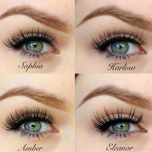 lashes types